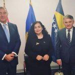 Osmani, Đukanović i Komšić zabrinuti zbog dešavanja u njihovim zemljama